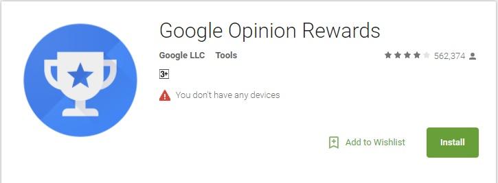 opinion rewards google