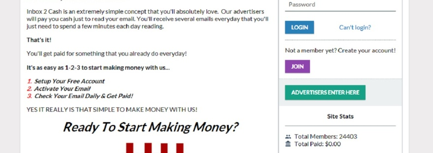 Inbox 2 Cash Review – Legit or Scam – 9 to 5 Work Online