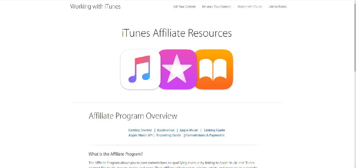 apple itunes affiliate