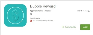 Bubble Reward