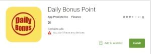 Daily Bonus Point