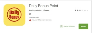 Daily Bonus Point