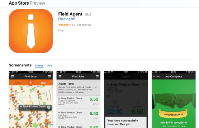 Field Agent App Review – Legit or Scam – 9 to 5 Work Online