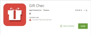 Gift Chec