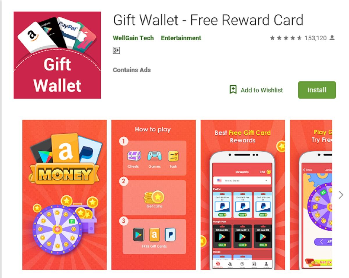 Bonus card scam