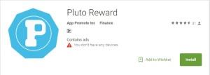 Pluto Reward