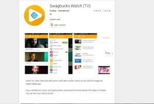 Swagbucks watch TV