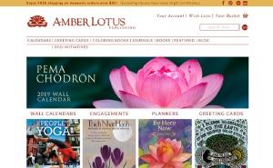 amber lotus