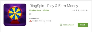 Ring Spin