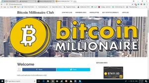 Bitcoin millionaire