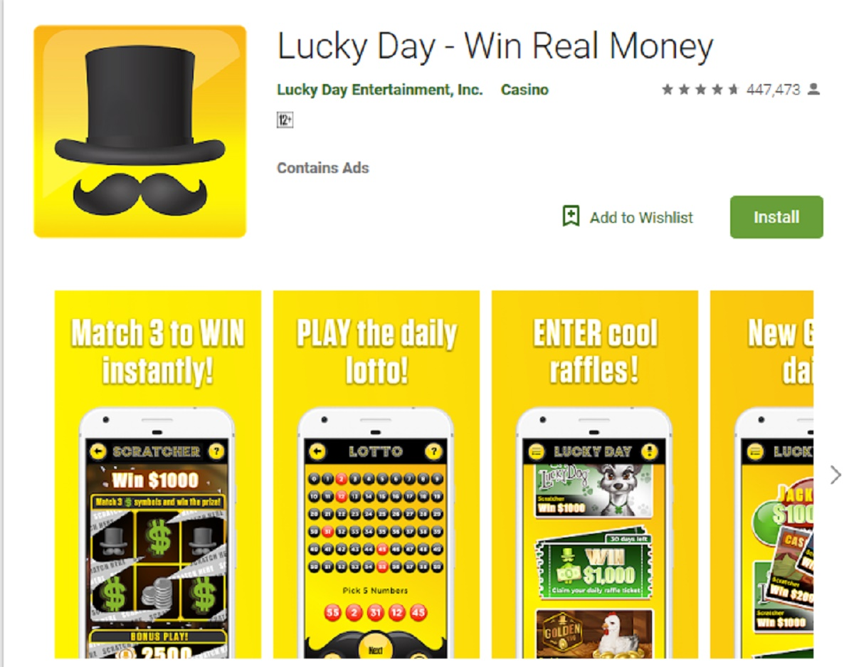 Lucky Day App Review – Legit or Scam – 9 to 5 Work Online