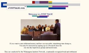 jury talk