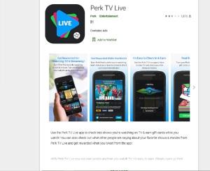 Perk TV Live