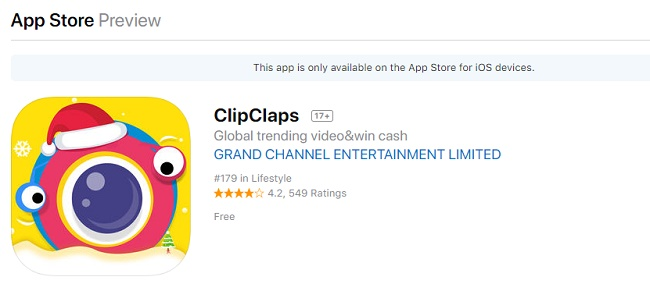 ClipClaps App Review 2019: Legit or Scam – 9 to 5 Work Online