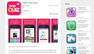 Perk Quiz