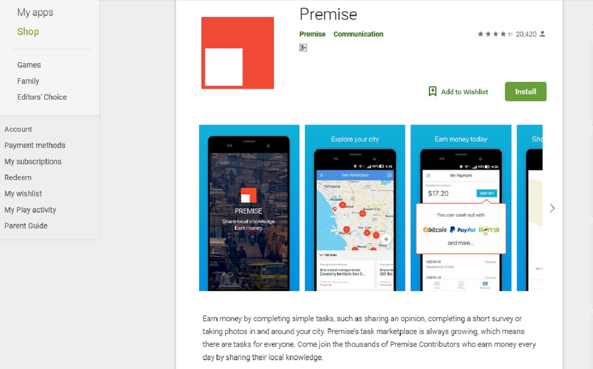 Premise App Review: Legit or Scam – 9 to 5 Work Online